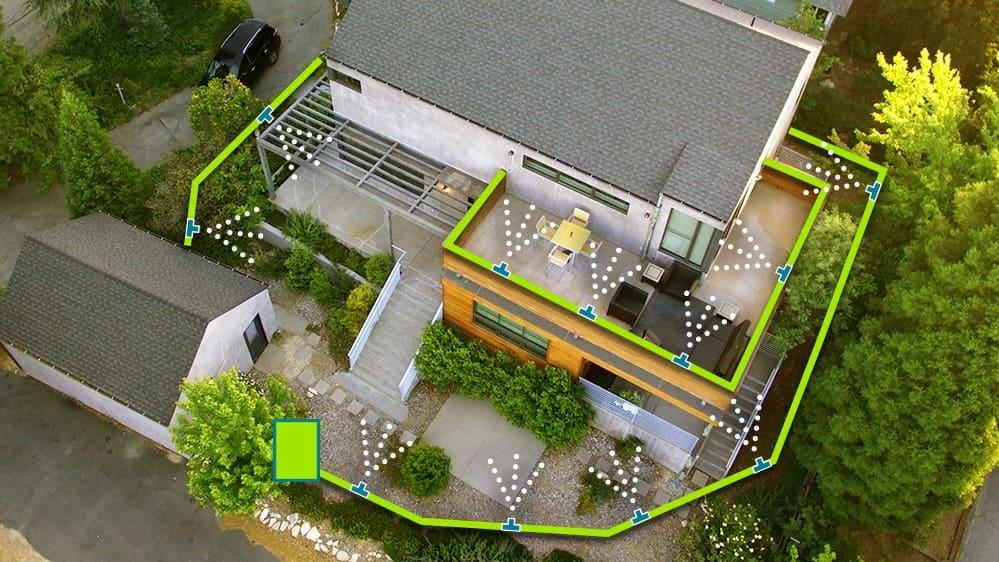 Impianto antizanzare da giardino EcoZanz